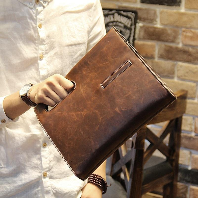 Мужские деловые сумки из натуральной кожи купить в