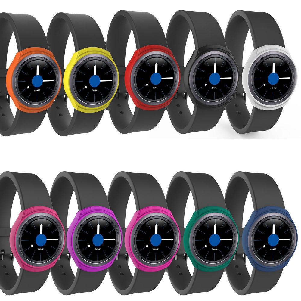 цена на Кремния часы тонкий чехол для Samsung Galaxy S2 Gear SM R720 SM-R730