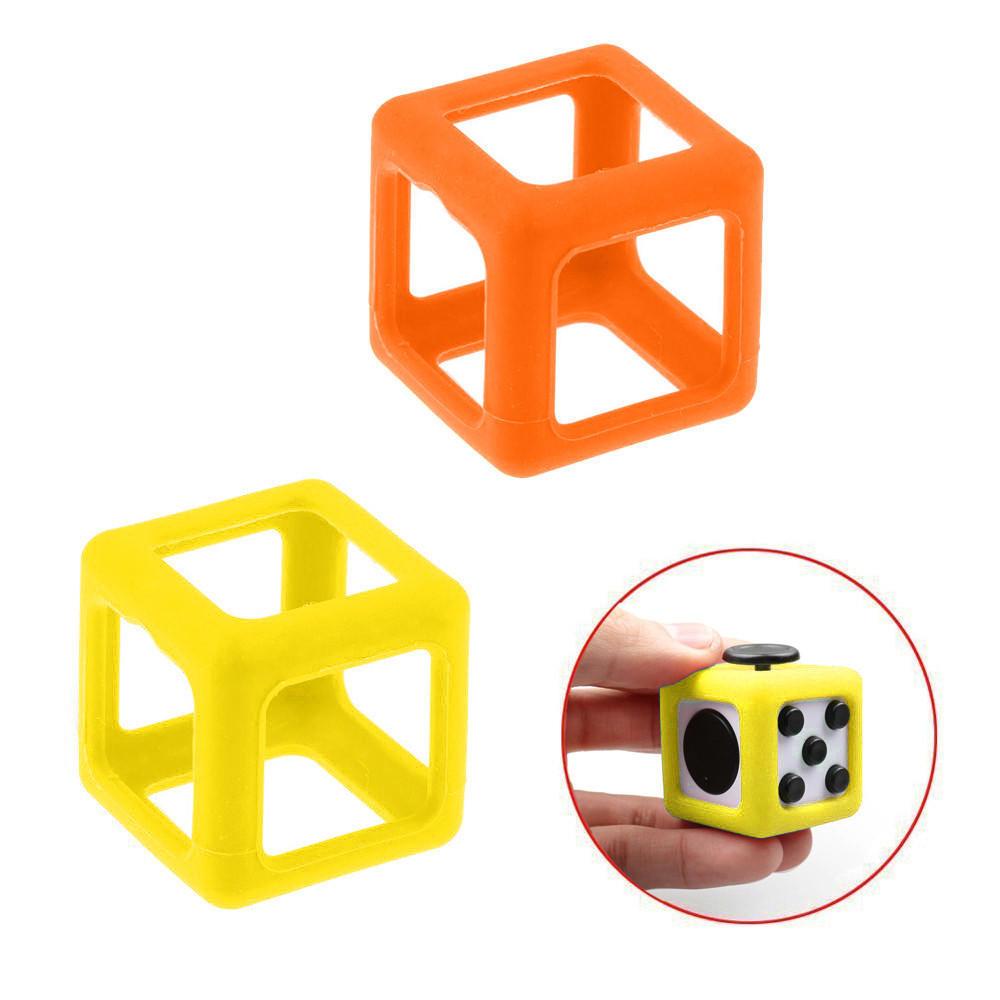 Для непоседа куб стресс помощи фокус игрушка чехол случае желтый/оранжевый непоседа постельное белье зайчата 3 пред бязь непоседа желтый