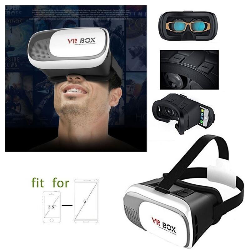 VR Box II 3D VR очки виртуальной реальности гнездами картон Oculus Rift DK2 Gear VR Vive для Sams... dynavox vr 70 ii chrome