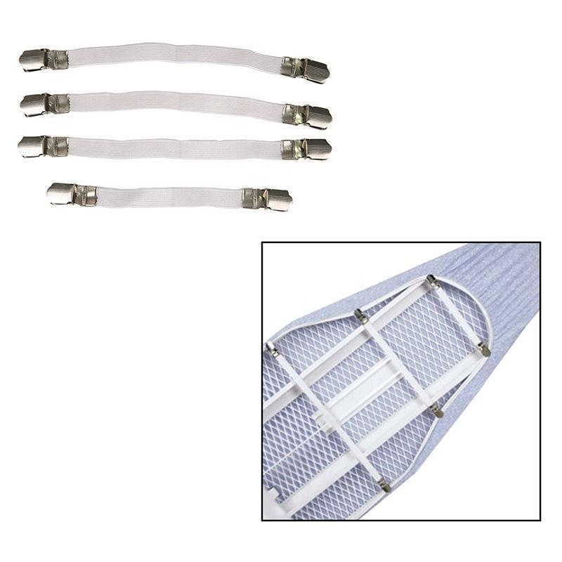 4шт гладильная доска Обложка диван зажим крепления плотно подходят упругие Brace/галстуки/ремни/р... галстуки