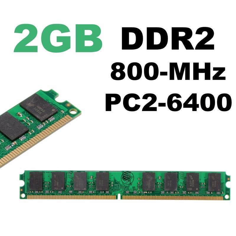 НОВЫЕ 2 ГБ DDR2 - 800 МГц PC2-6400 240 Обои память Dimm RAM для материнских плат AMD for 2gb 1x2gb pc2 6400 ddr2 800 450260 b21 460424 001 with 1 year warranty