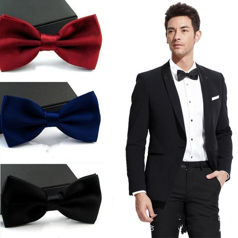Мода мужчины бизнес галстуки жениха свадьба смокинг галстук галстук аксессуар галстуки