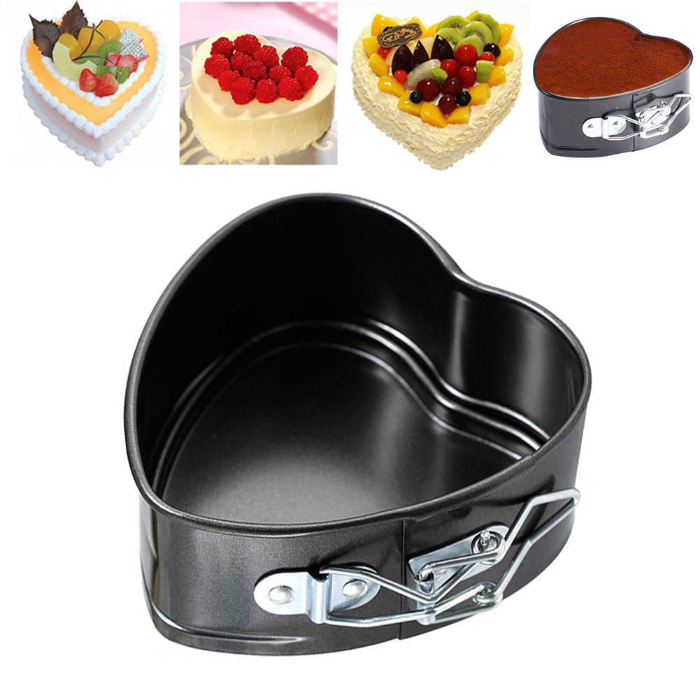 Любовь сердца форма антипригарное выпечки лоток Пан выпекать печь торт банки кухонная посуда кули... посуда кухонная
