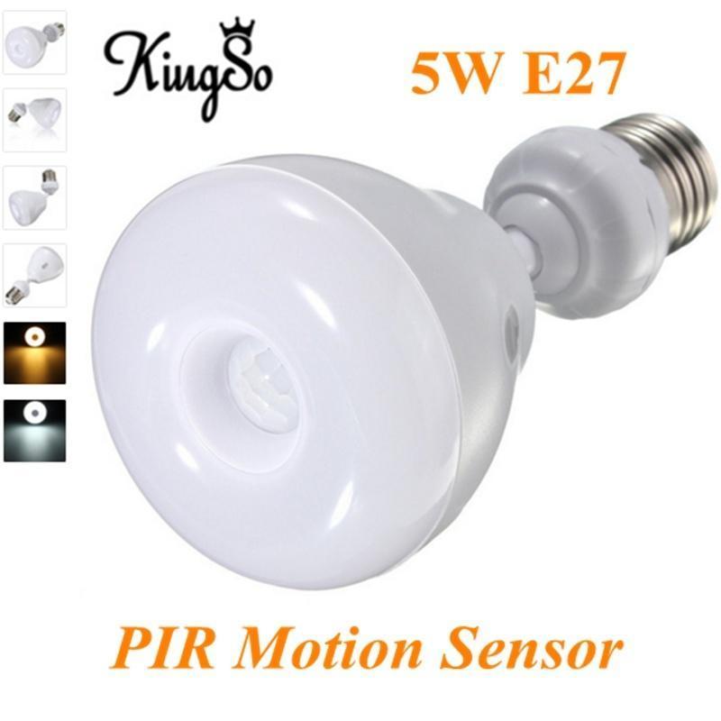 E27 5W 2835 3528 SMD 29 привели лампа лампа инфракрасный IR PIR Auto датчик движения светодиодная лампа no name 59 smd e27 230v 6 5w