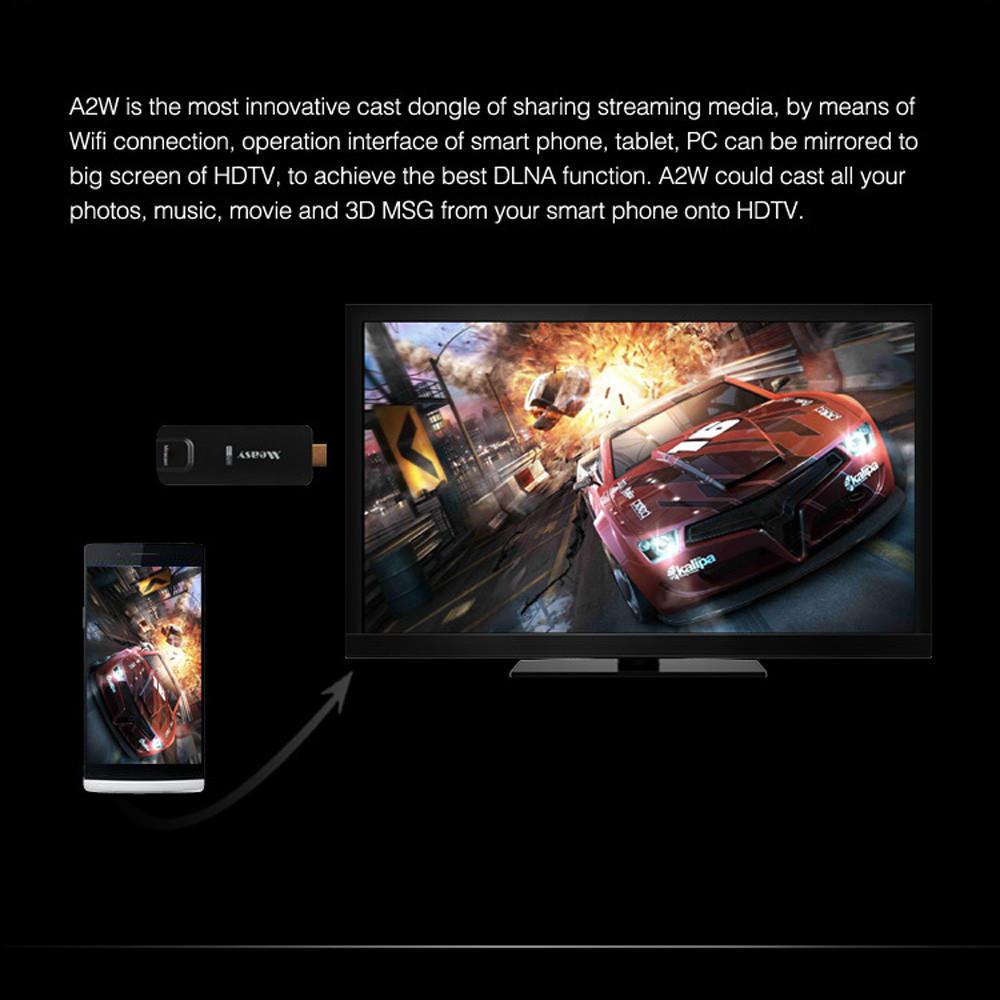 Measy Miracast AirPlay EZCast Dongle A2W для планшетных проекции смартфон на ТВ aoluguya al01 wi fi 1080p display airplay miracast dlna ezcast dongle white