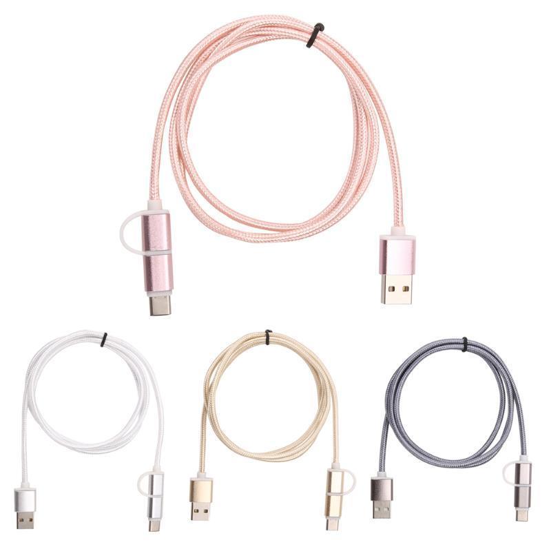 USB 2.0 мужчины к USB 3.1 типа C/Micro USB данных синхронизации быстрее зарядный кабель orico mtf 10 micro usb зарядный кабель