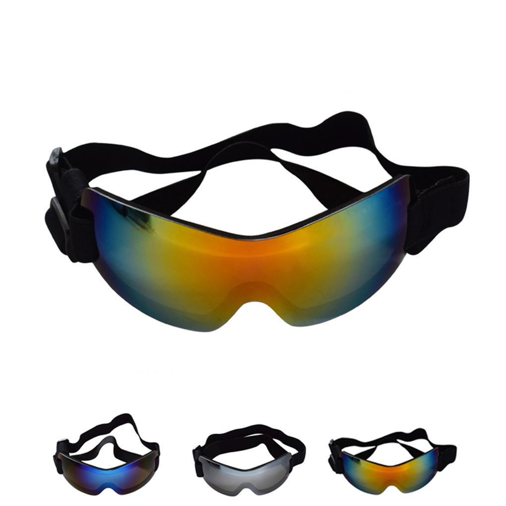 ПЭТ UV защитные ОПРАВЫ очки износа защиты глаз с регулируемым ремешком для больших собак аксессуар очки защитные truper t 10813