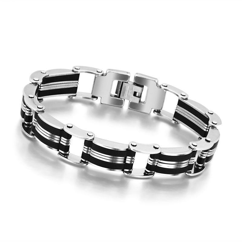 Мода мужчины из нержавеющей стали браслет браслеты браслеты ювелирные подарки