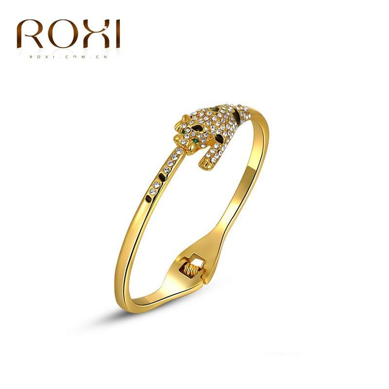 Золото покрытием браслет животных Leopard браслеты браслеты ювелирные