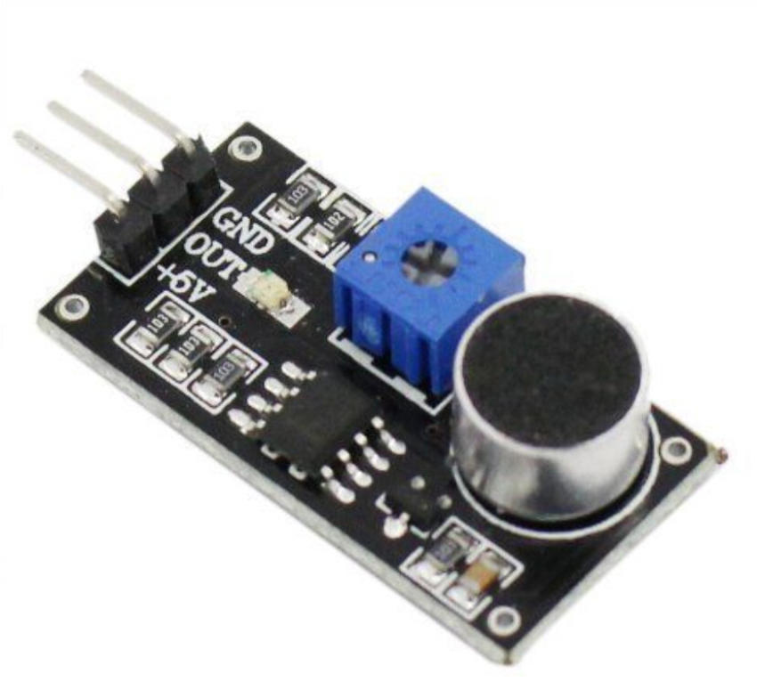 1 x горячие обнаружения модуль для Arduino микрофон звук датчик LM393 электретного новый lm393 sop8