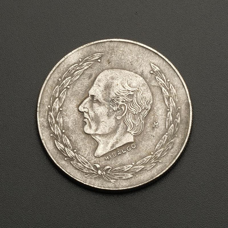 1951 Идальго Мексики памятные монеты серебряные монеты печатных древние монеты для коллекции монет нумизматика киев продать монеты советские метал рубли монеты стоимость