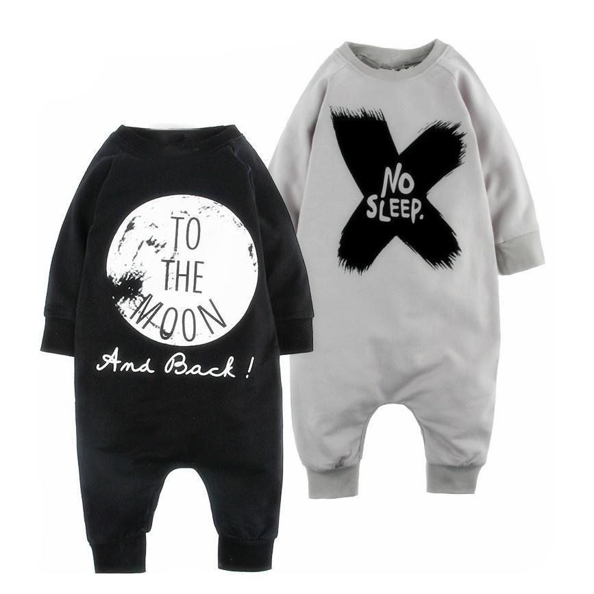 Дети мальчики девочек новорожденных одежда Комбинезоны наряды новорожденных Боди Комбинезоны детские
