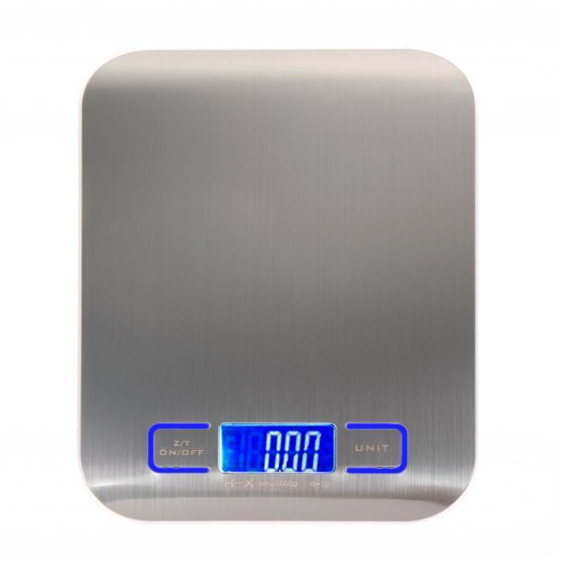 Кухонные весы приготовления мера инструменты из нержавеющей стали Электронные вес LED кухонные весы redmond rs 736 полоски