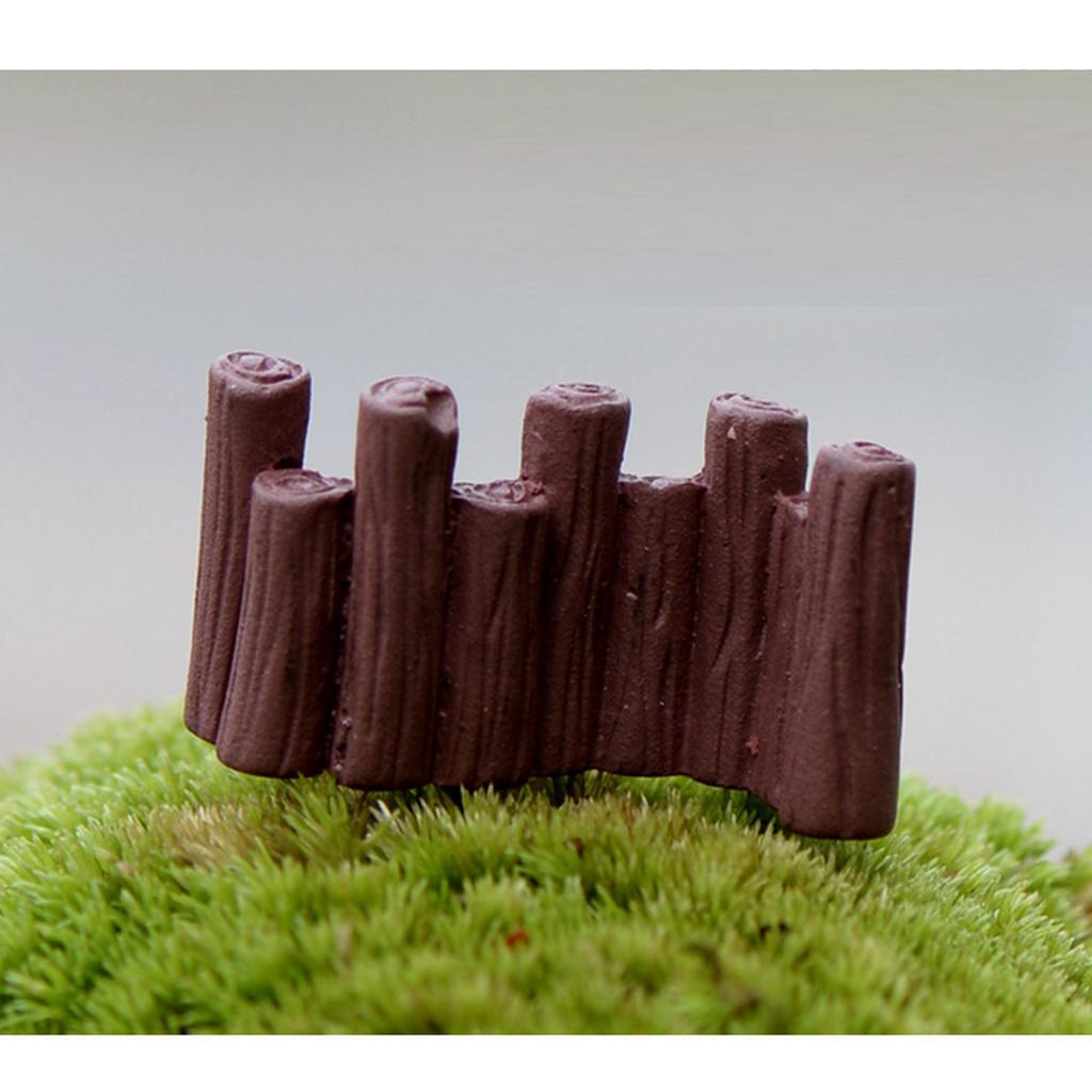 10 шт микро пейзаж Мини смола бонсай фея DIY Сад Декор заборы плетеные заборы для дачи купить