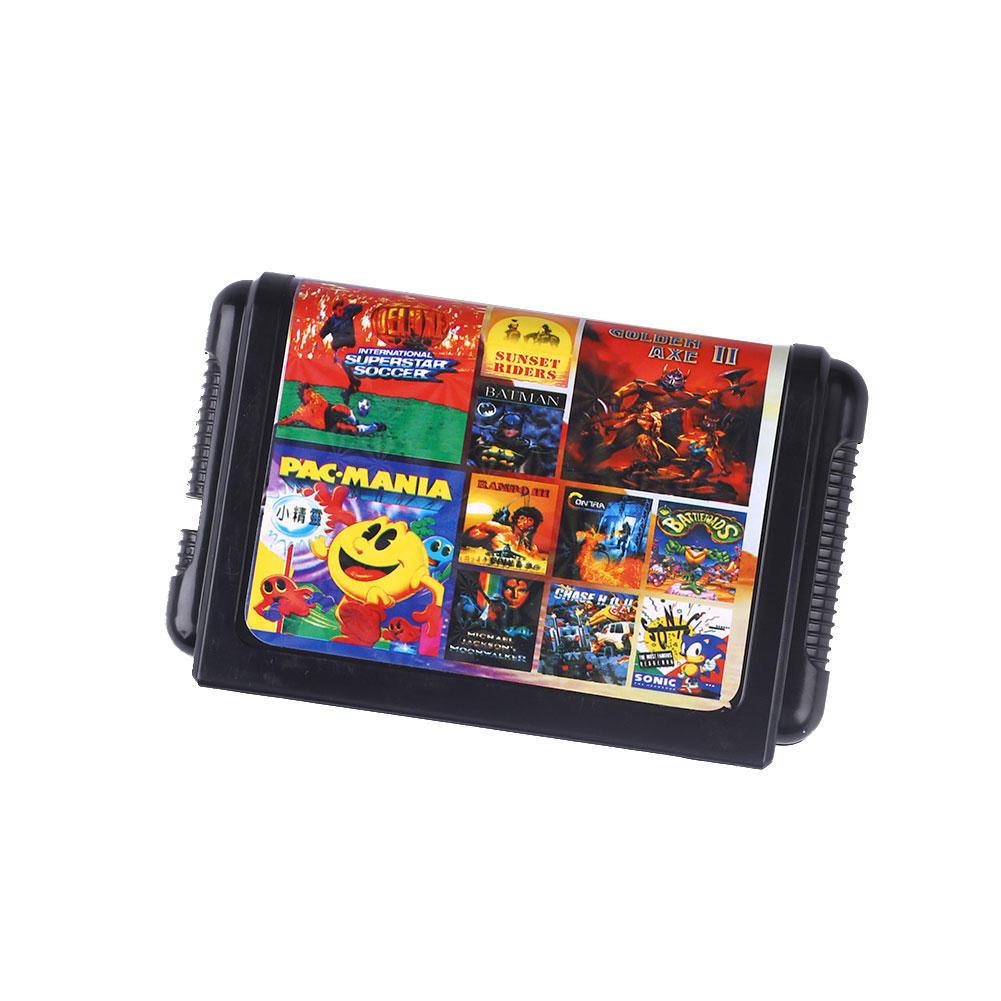 SEGA 11 в 1 игру картридж Sega MegaDrive Бытие английский не может спасти sega игровая приставка megadrive 2 черная
