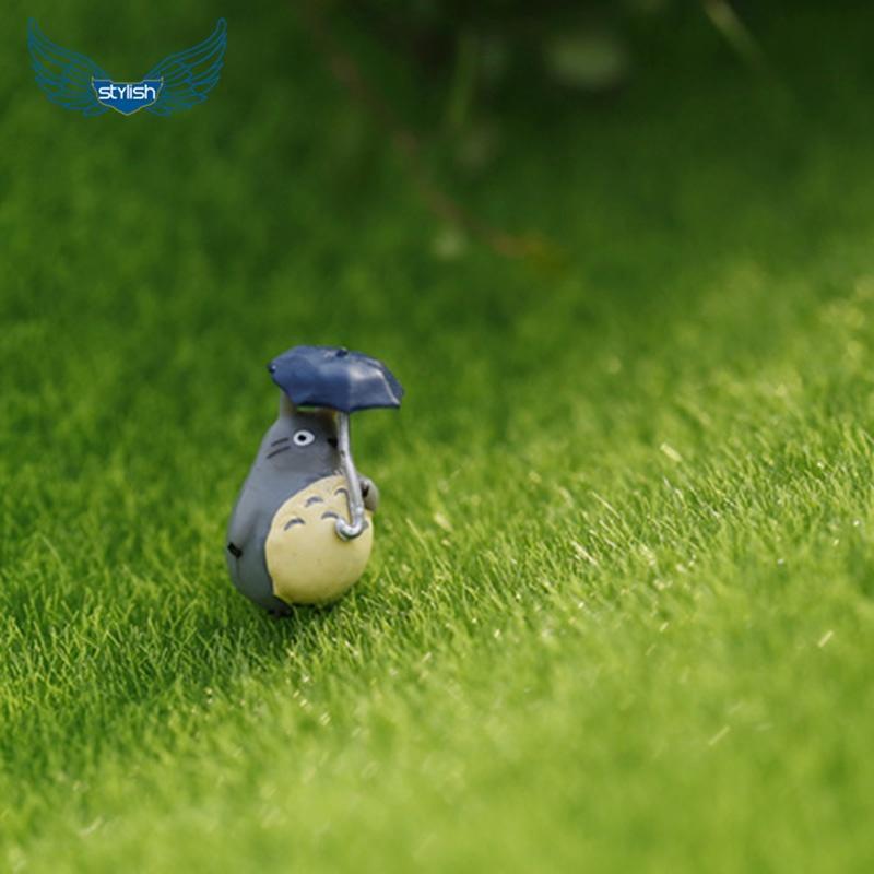 Стильная пень на миниатюрный сад украшение DIY гриб ремесло горшок фея кукольный домик домик гриб