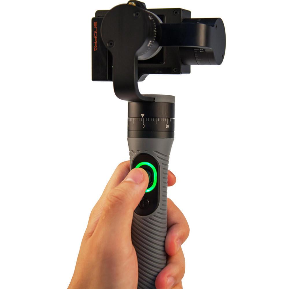 Скидка Snoppa Go портативный карданного 3-осевой стабилизатор для GoPro скидка