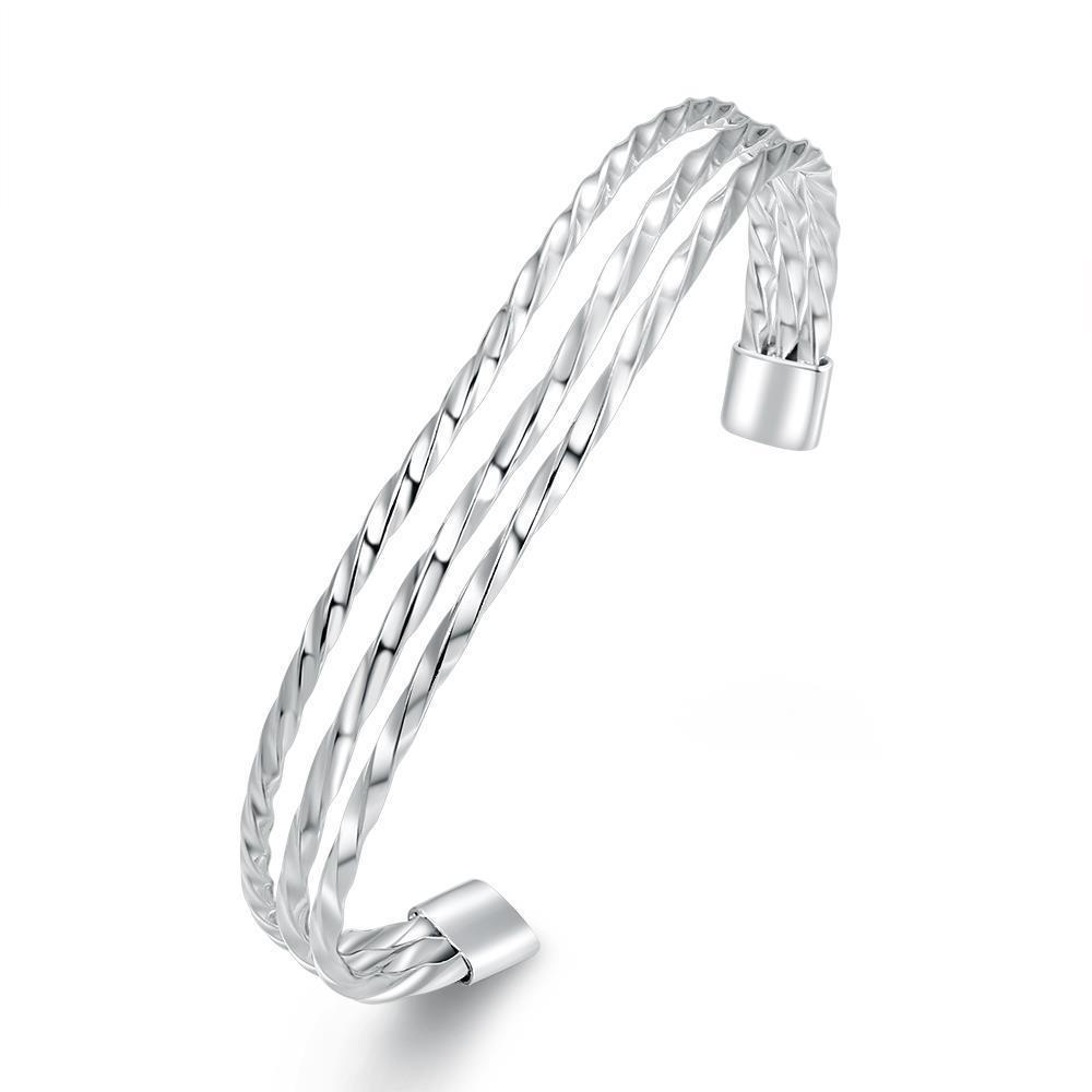 Maxnina B004 Fshion латунные Браслеты серебряные позолоченные украшения браслеты