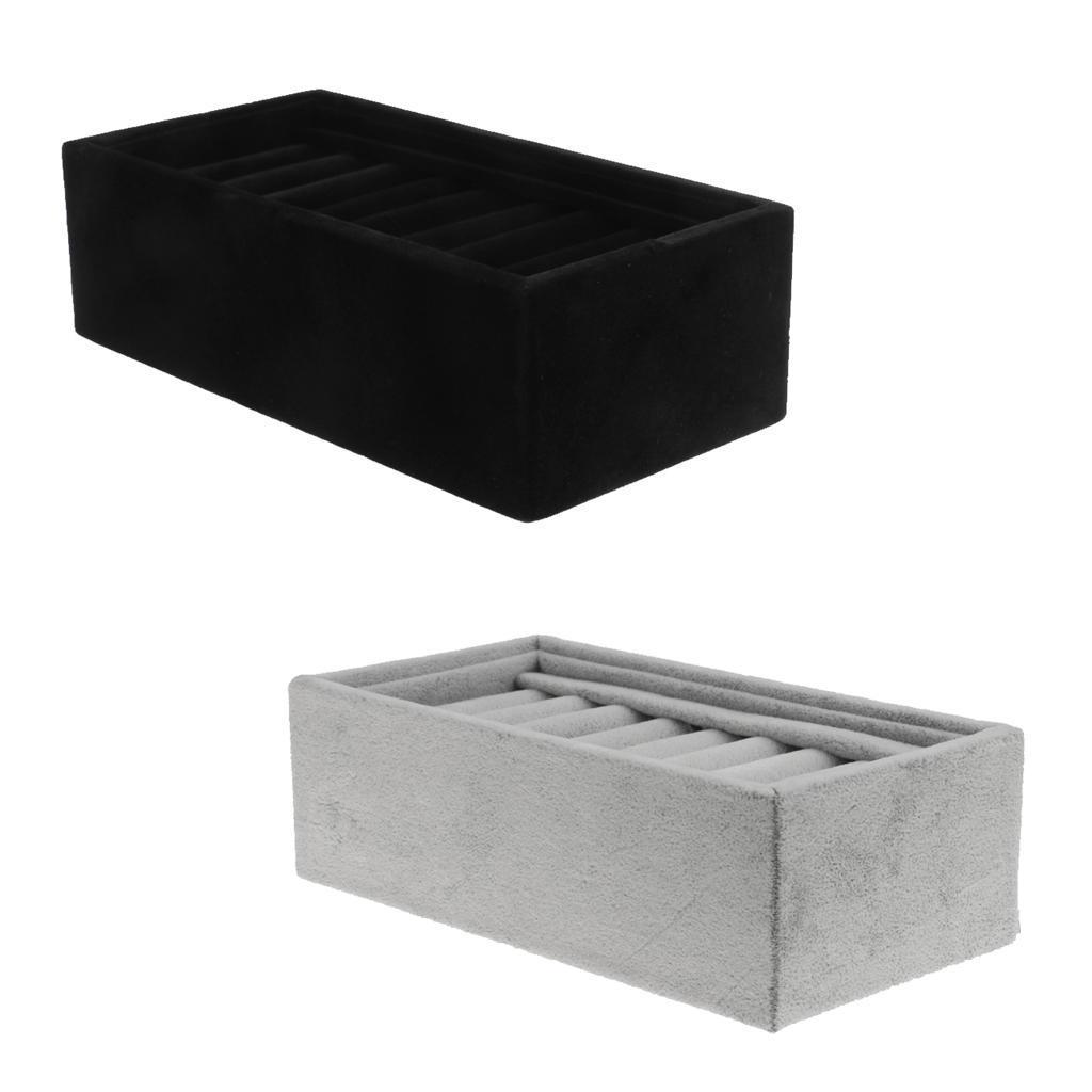 Velvet браслет браслет ювелирных изделий дисплей ювелирных изделий коробка футляр для хранения