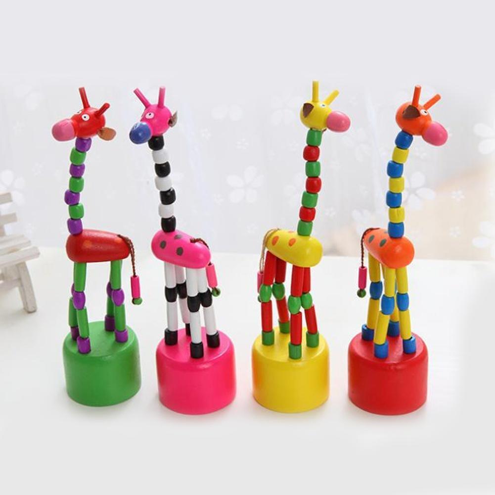 b b enfant jouet en bois perfectionnement danse debout girafe bascule joom. Black Bedroom Furniture Sets. Home Design Ideas