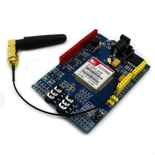 SIM900 Совет по развитию щит Quad диапазона GSM GPRS для Arduino soaringe updated sim900 gsm gprs v2 0 shield development doard for arduino new simcom