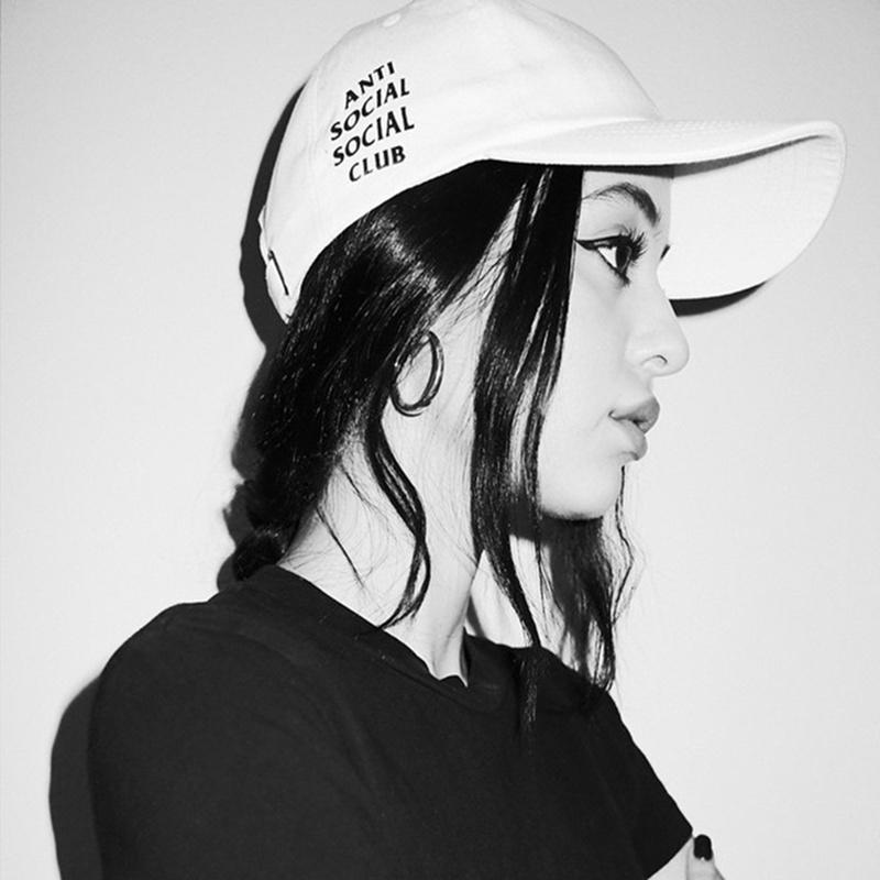 Антиобщественных клуб Hat Cap антиобщественных Социальный клуб странно Street шляпа Бейсболка женская бейсболка unbranded hat cap