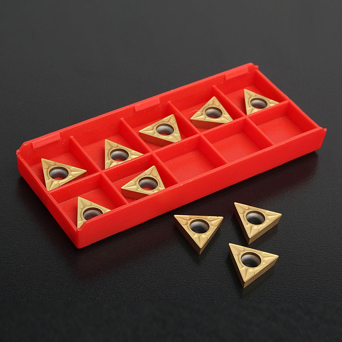 10шт ТКИТ 16T304 треугольной стали вольфрама карбида вставки Токарные инструменты б у 1д601 малогабаритные настольные токарные станки