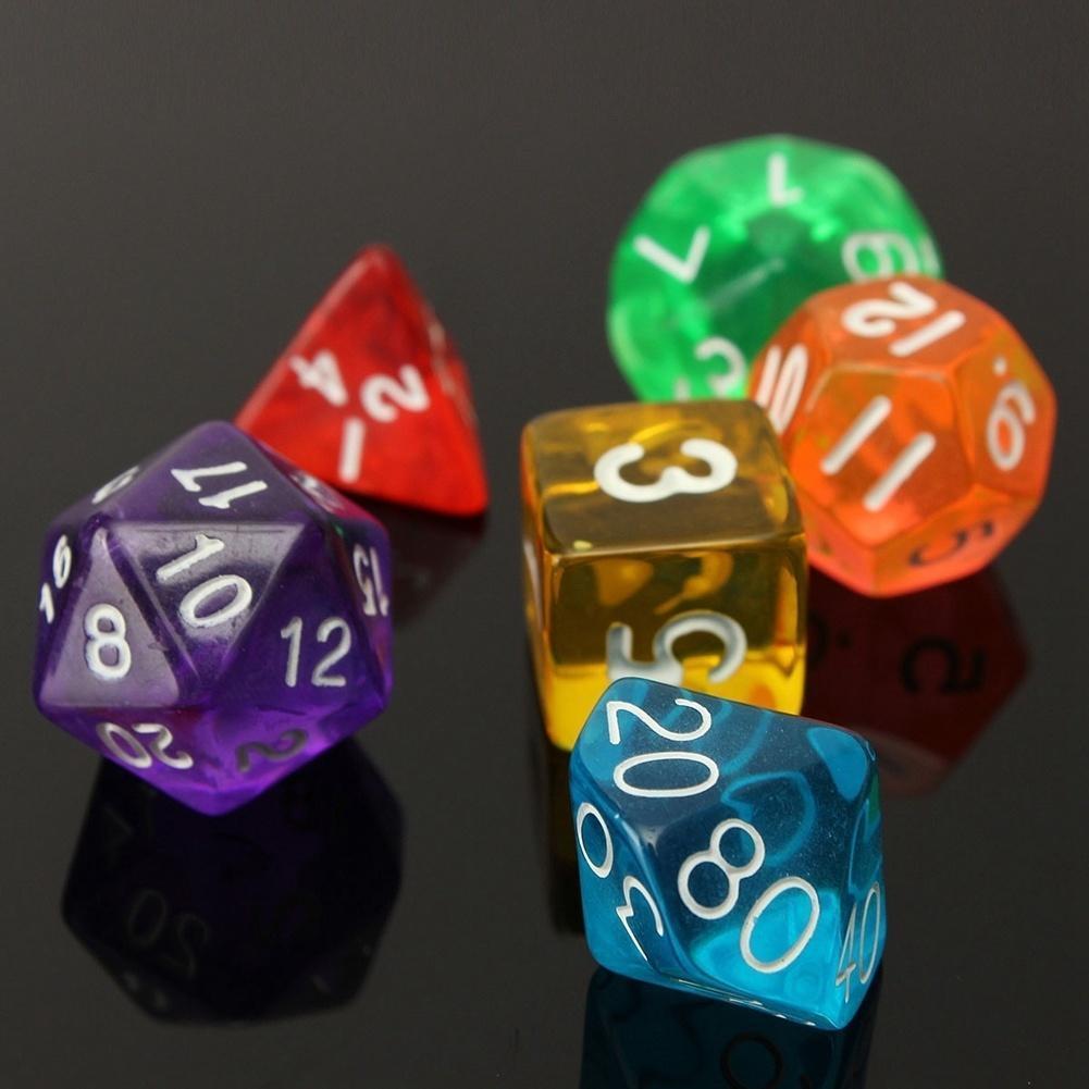 7-dice односторонний D4 D6 D8 D10 D12 D20 MTG Magic the Gathering прочный 2016 игра мозаика с аппликацией медовая сказка d10 d15 d20 105 5 цв 6 аппл 2 поля