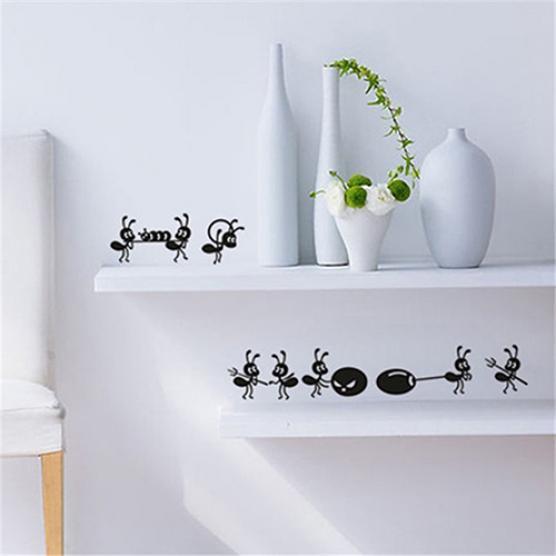 Мебель стикер мультфильм Муравей украшения стекла наклейки зеркало окно декор стен декор для стен