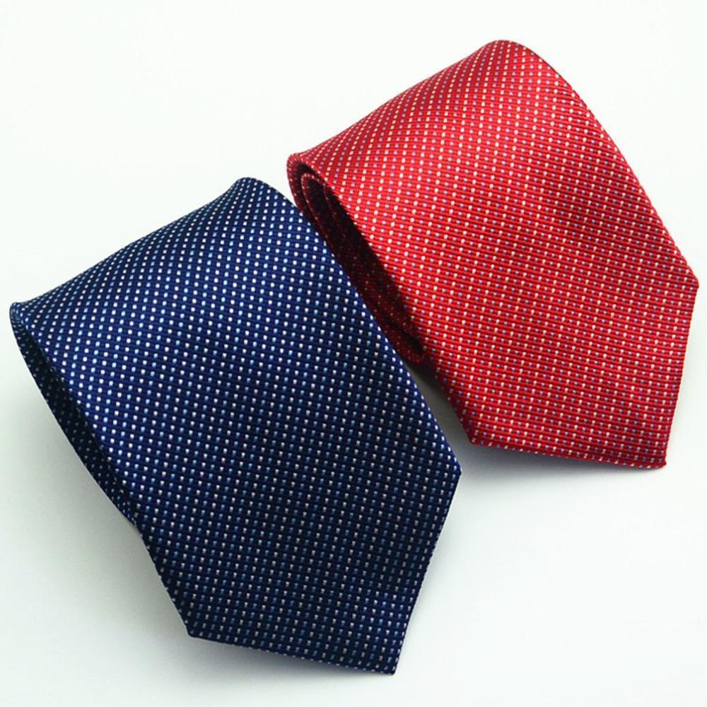 2017 моды дизайн новые Мужские галстуки полиэстера шелк горошек галстук мужчин Neckwear случайный... галстуки