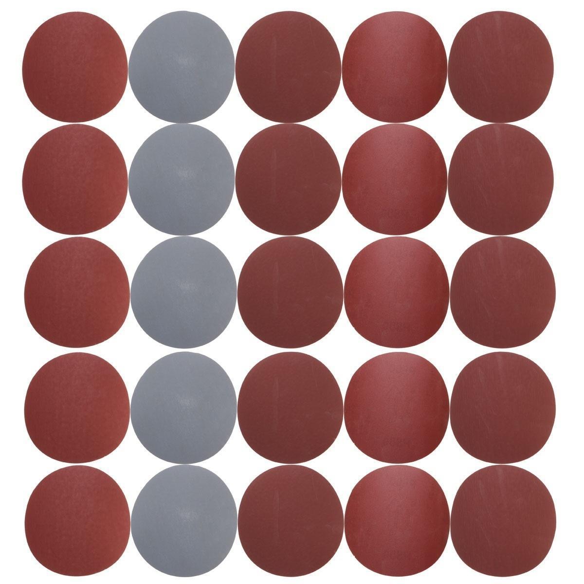 25PCS 5» дюймовый круглый наждачной бумаги диска песка листы Грит 800/1000/1500/2000/3000 новых россия шк в ярославле 25 5
