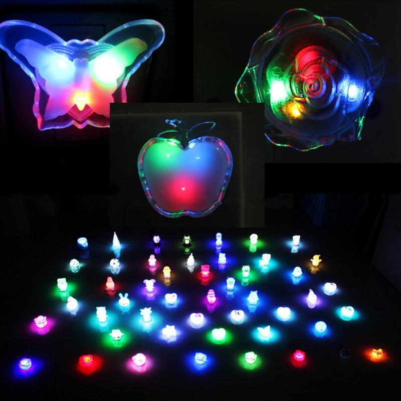ВОДИТЬ прикроватные красочный свет лампы комнату украсить
