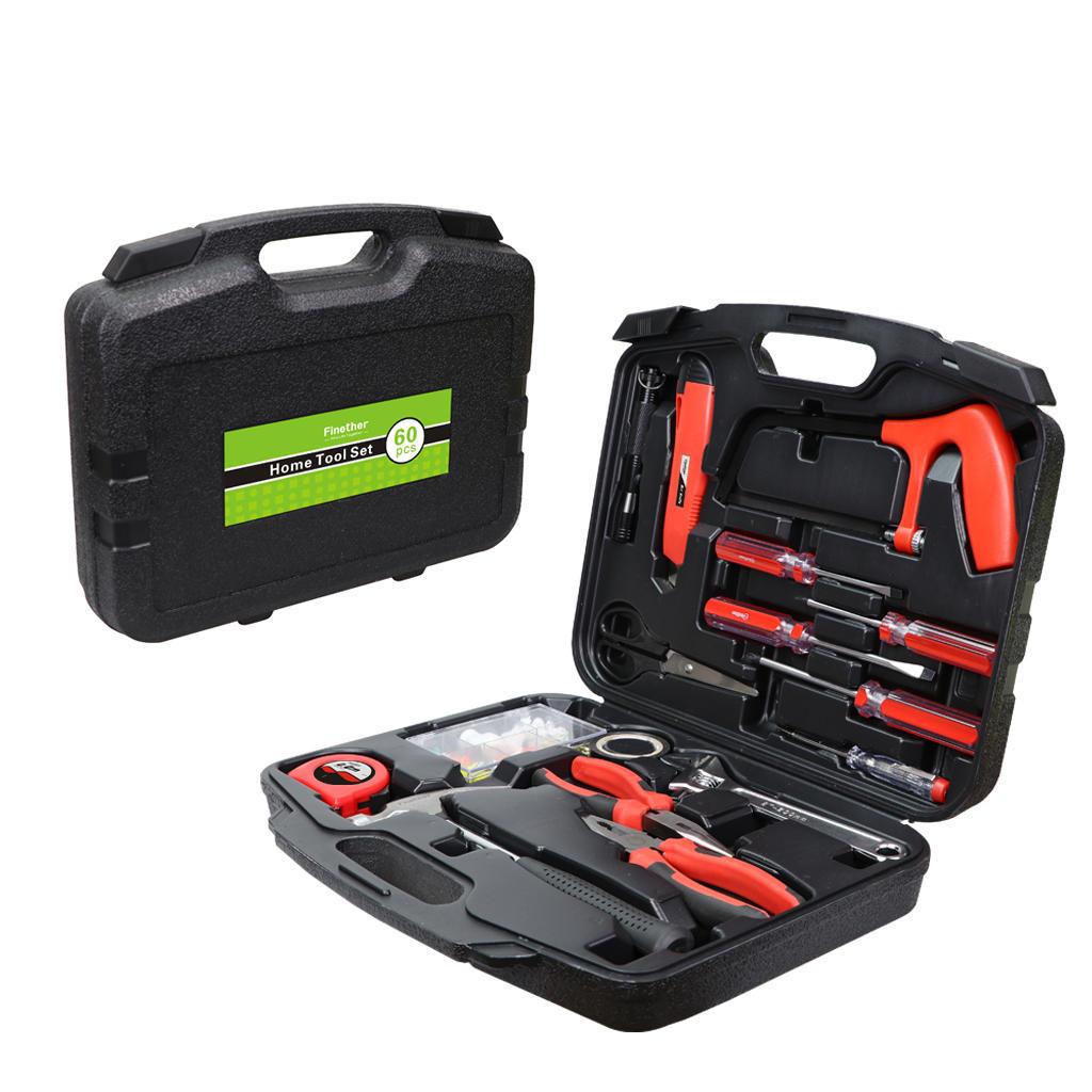 Finether 60 PC стороны набор инструментов, набор инструментов дома набор инструментов квалитет нир 29м