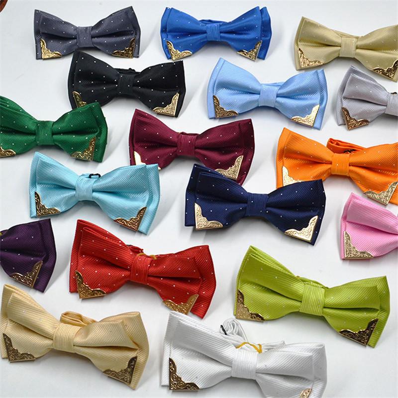 Коммерческих галстук-бабочку мужская формальных бабочка Боути Крават мужчин брак галстуки галстуки