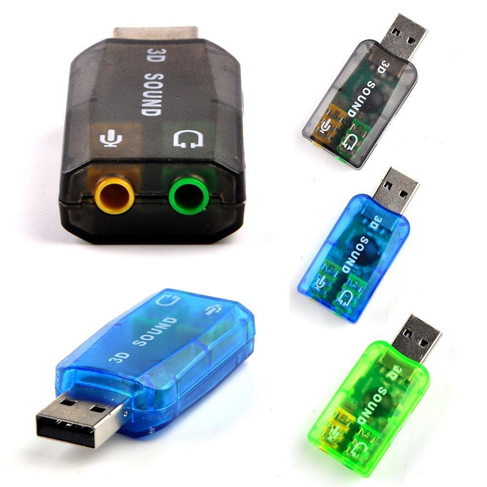 USB звуковая карта 5.1 внешний USB звуковая карта 3D звук звуковая карта orient au 01n 3 5mm jack to usb