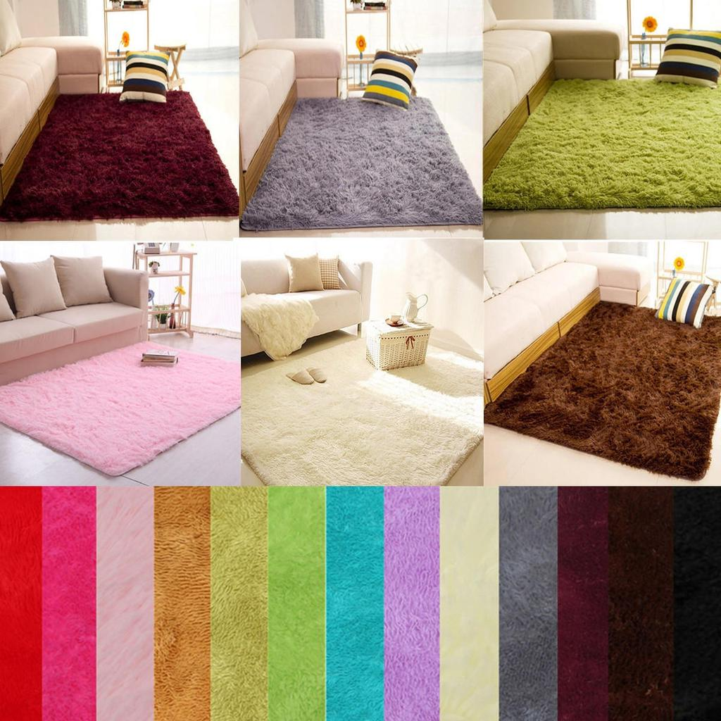 soft fluffy rugs anti