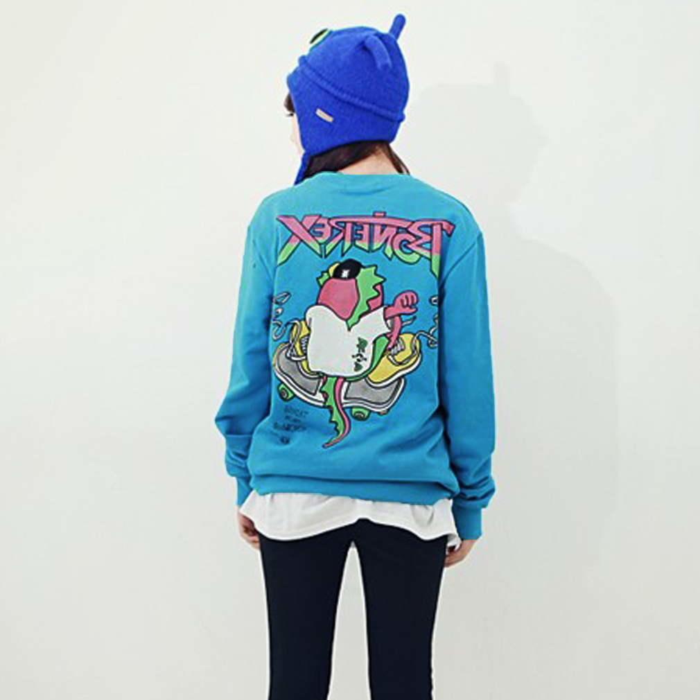BIGBANG G-Dragon капюшоном свитер K-pop GD, одна из рода же типа Blue Coat bigbang gd g dragon collection one of a kind booklet release date 2013 4 02 kpop