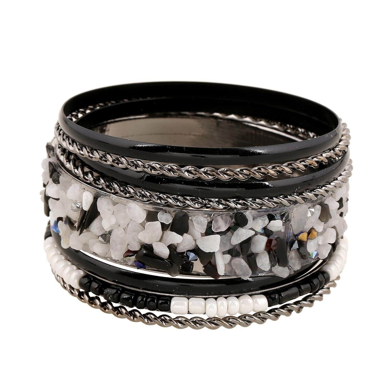Мода женщин браслет кристалл браслеты ювелирные подарки