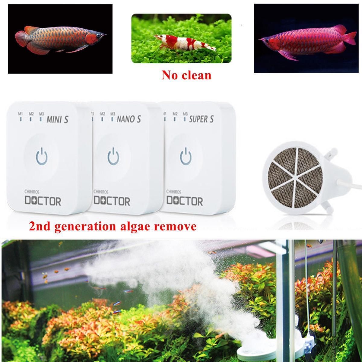 все цены на Chihiros Aquatic Studio доктор фильтр СМИ водорослей удалить бак рыб не чистой водной Studio пылесос