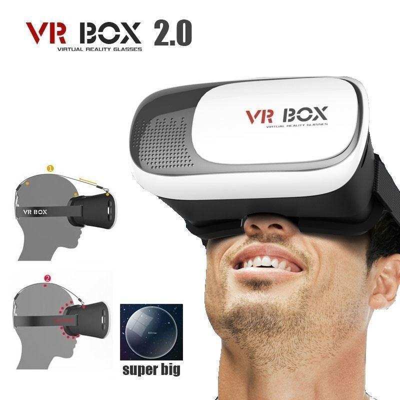 VR BOX II версии 2.0 Виртуальная реальность 3D VR очки для 4,7- 6.0 смартфон dynavox vr 70 ii chrome