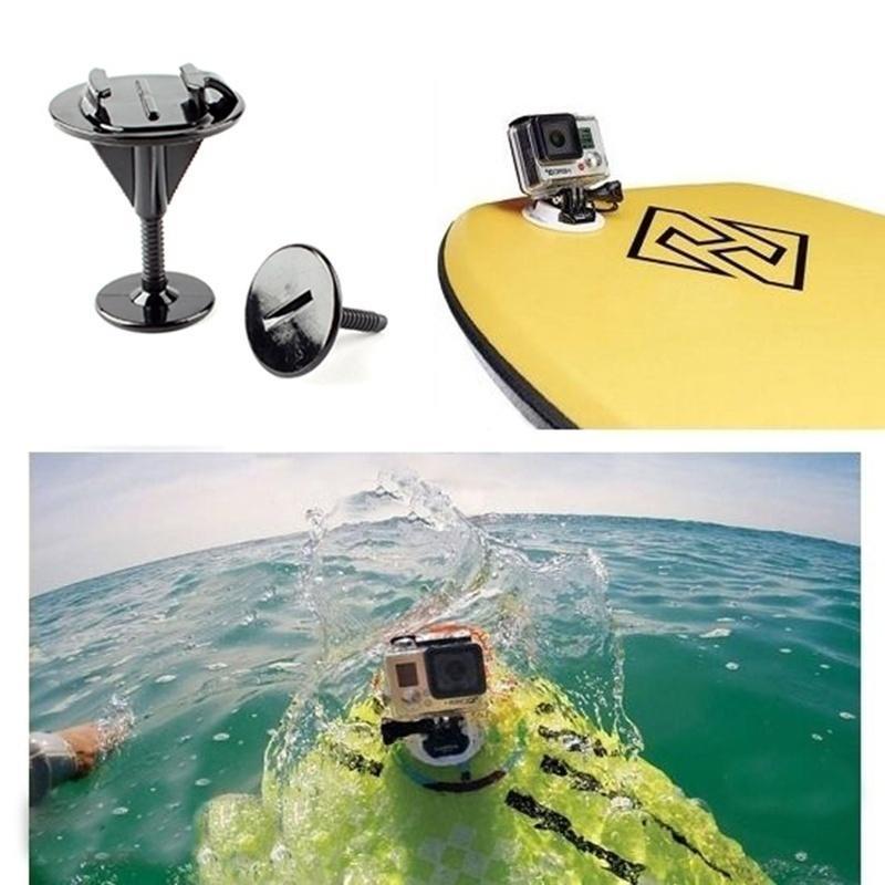 Фиксированной Bodyboard серфинг горе кронштейн адаптера для Gopro Hero 4/3/3 + SJ4000 bodyboard mount