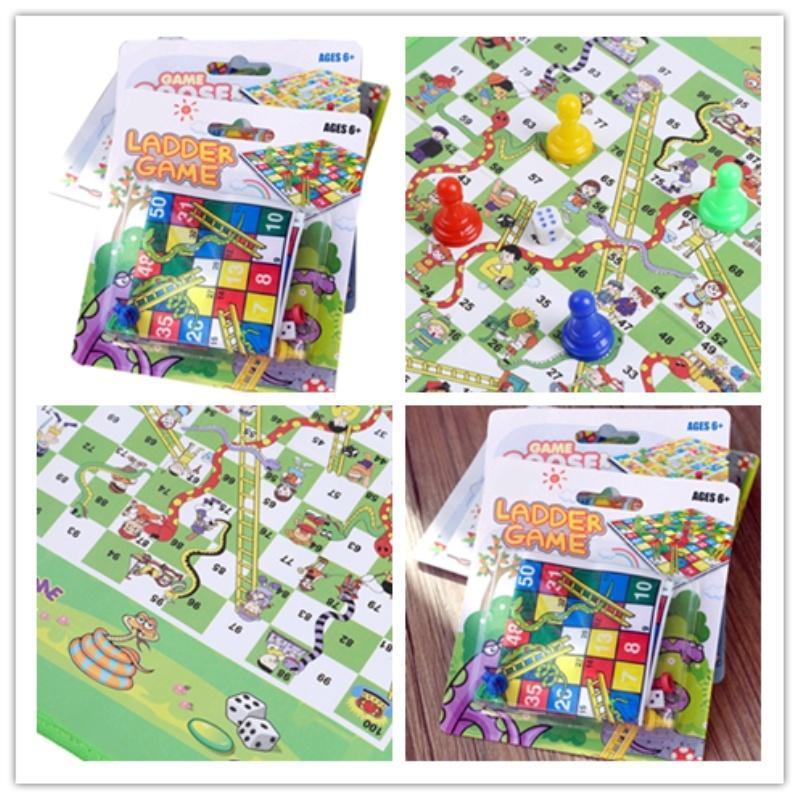 1 набор змей & лестницы игры Монополия шахматы змея игры Детские игрушки головоломки шахматы настольные игры экспедиция шахматы дорожные