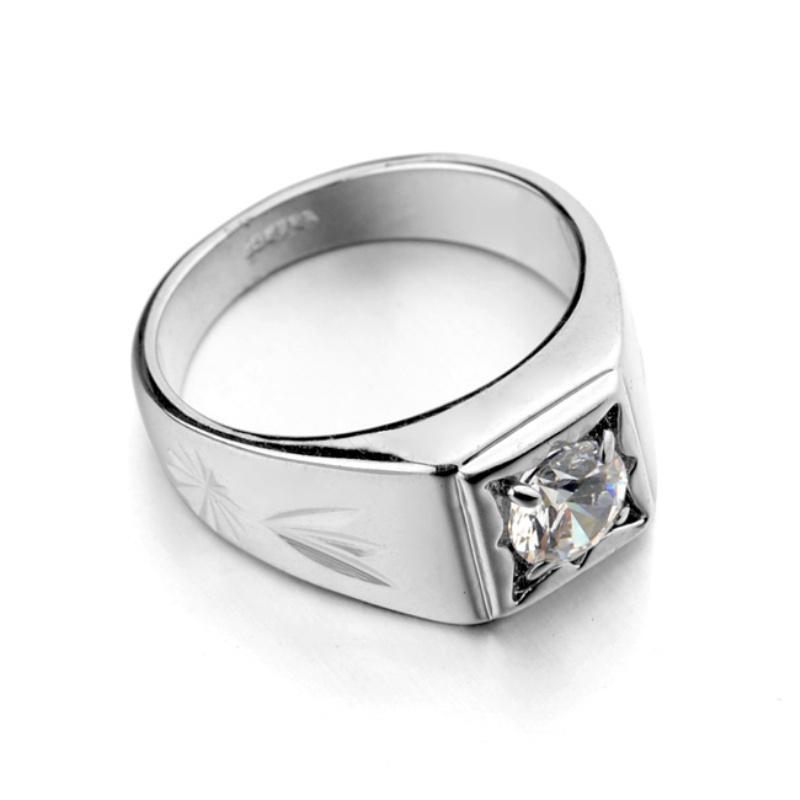 Повелительницы Crystral кольцо горный хрусталь обручальное кольцо (серебро)