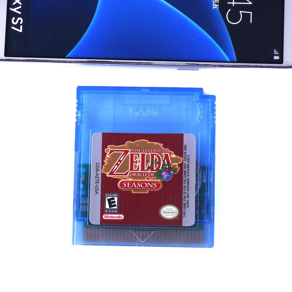 Zelda Oracle сезонов игра мальчик Цвет GBC/GB/GBA/SP видеоигр картриджа только ламинатор gbc fusion 1000l a4 black