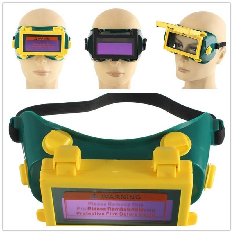 Про Солнечная Авто Затемнение ЖК сварки очки сварочные маски сварочные очки шлем