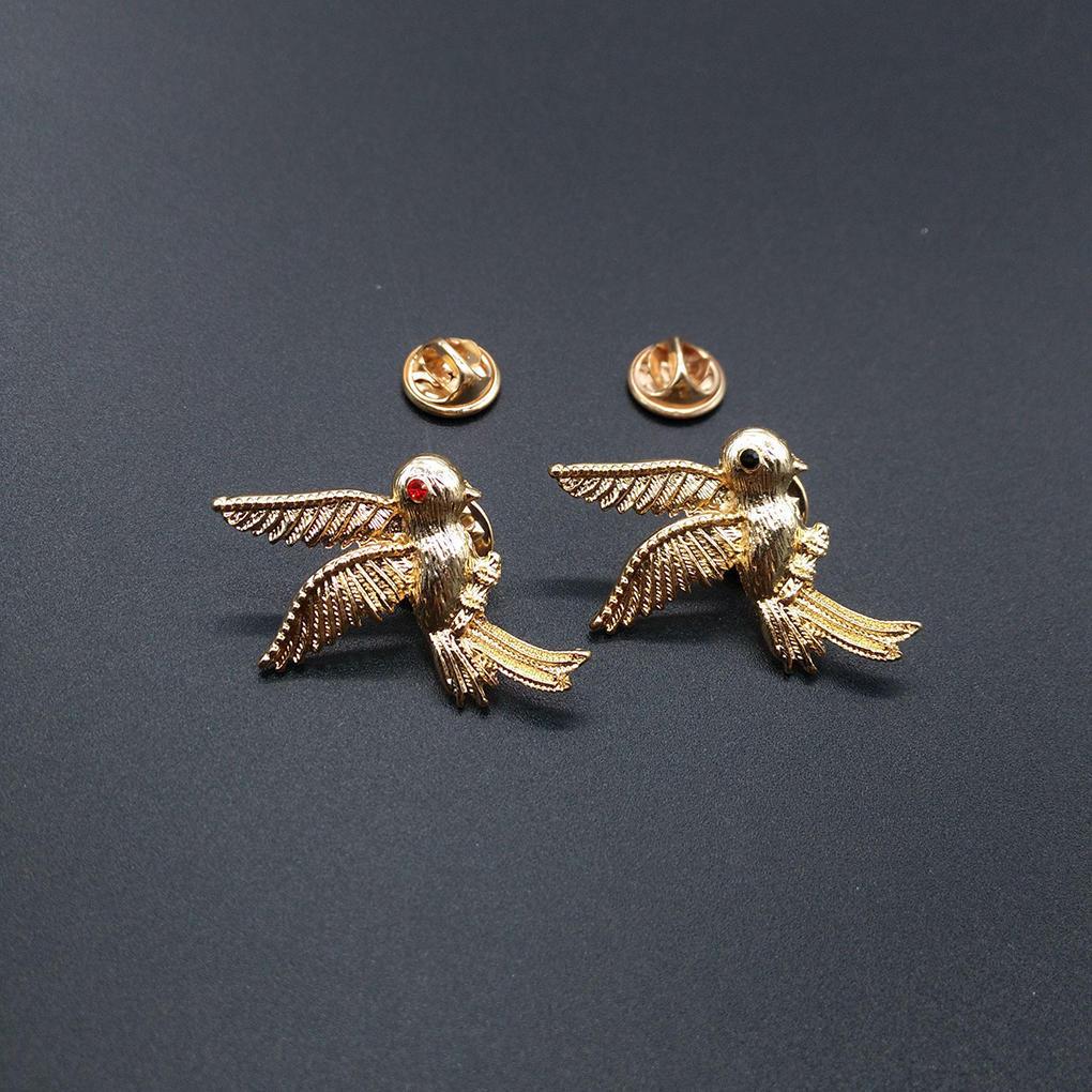 Одежда женская стильная Бижутерия летающих птиц колибри брошь сплава Брошь женская одежда