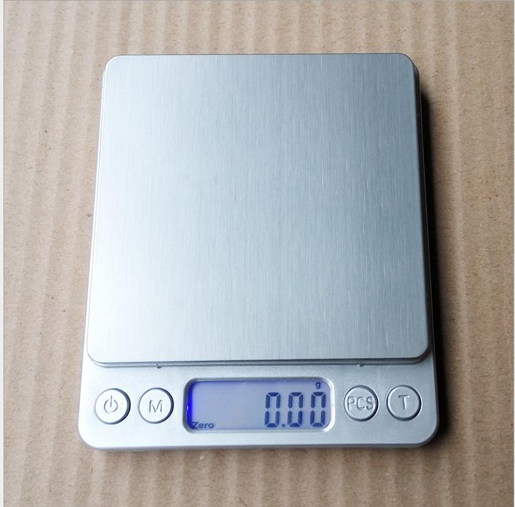Цифровой многофункциональный пищевой кухонные весы, 0,01 3 кг, серебро, нержавеющая сталь кухонные весы redmond rs 736 полоски