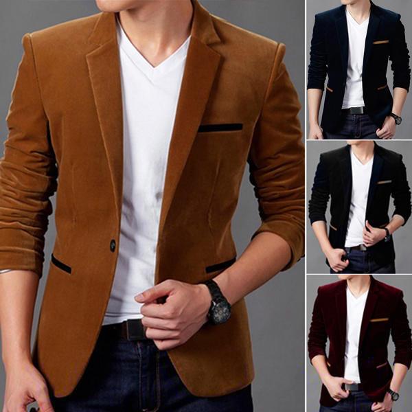 компактный, простой модные мужские пиджаки вельветовые работ преподаватели Вуза