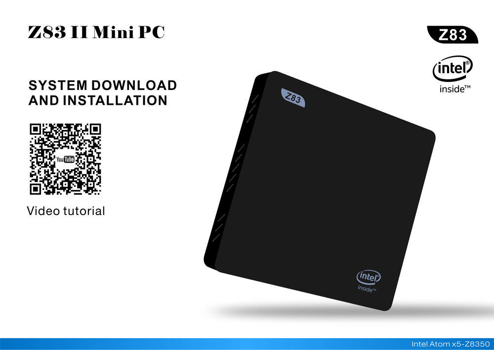 Z83II Mini PC 64 бит Windows 10 Intel Atom x5-Z8350 Quad-core 2.4 G + 5,8 G двойной WiFi higole gole1 plus mini pc intel atom x5 z8350 quad core win 10 bluetooth 4 0 4g lpddr3 128gb 64g rom 5g wifi smart tv box page 9
